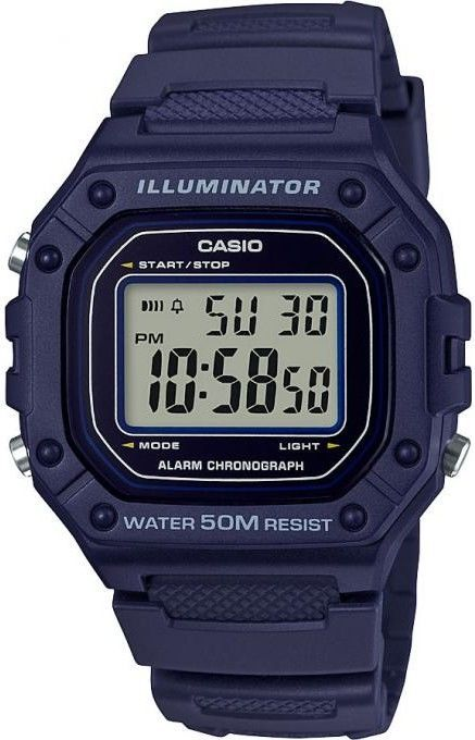 Hodinky Casio W 218H-2A Collection